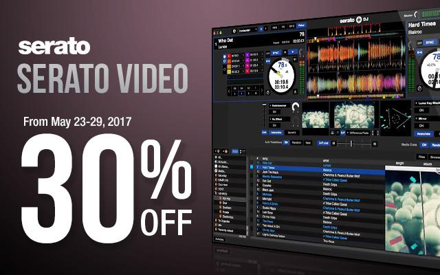 Serato DJ Video 30 Off Discount